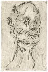 self portrait v by frank auerbach on artnet