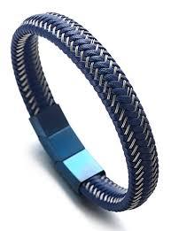 adjustable bracelet clasps images Halukakah quot jazz quot men 39 s genuine leather bracelet jpg