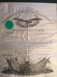 authentic 1864 proclamation signed by abraham lincoln is back with