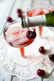 Cherry Cocktail Party Effect - delicious cherry mimosas from pizzazzerie com 3 ounces tart cherry