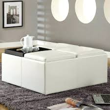 large leather ottoman coffee table u2013 mcclanmuse co
