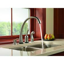 touch technology kitchen faucet pilar 4380t single handle kitchen faucet with touch 20 technology