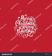merry christmas happy new year vector stock vector 516397114