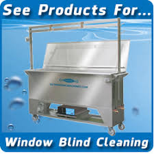 Ultrasonic Blind Cleaning Equipment About Window Blind Cleaning Morantz Ultrasonics
