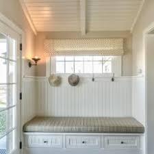 Beadboard Bench - cottage mudroom photos hgtv