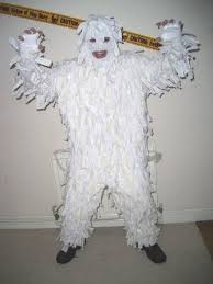abominable snowman costume liam bishop on my yeti costume hours of work