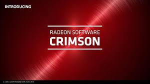 crimson amd radeon software crimson driver announced completely