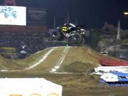 monster truck jam anaheim batman truck freestyle crash anaheim monster jam jan 2008 youtube