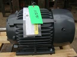 us motors nidec 3 phase electric motor 5 hp 885 rpm model 15703378
