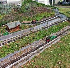 introduction to garden railroad construction for the yard