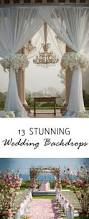 Wedding Altar Backdrop 45 Amazing Wedding Ceremony Arches And Altars To Get Inspired