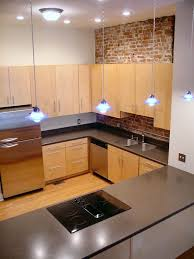 Delightful Loft Apartment Kitchen Design Ideas Inlcuding Exposed - Small apartment kitchen design ideas