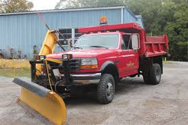 Ford F350 Dump Truck With Plow - municibid online government auctions of government surplus