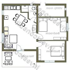 architectures rectangular home plans bed house floor plan small
