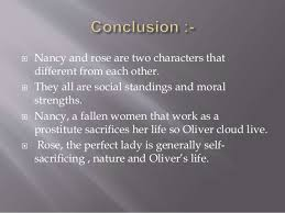 comparison between rose maylie and nancy in oliver twist