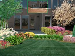 exciting tropical illusions design and landscape for front yard