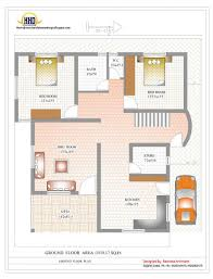 Duplex Blueprints House Plan For Sq Ft In India Striking Duplex Plans Contemporary
