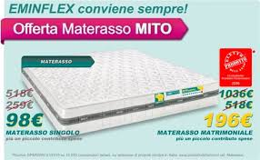 prezzo materasso eminflex offerte eminflex home interior idee di design tendenze e