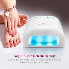 amazon com nail dryer uspicy macaron 36w nail dryer uv lamp
