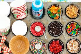 sundae bar toppings 20 fun food bars to recreate at home