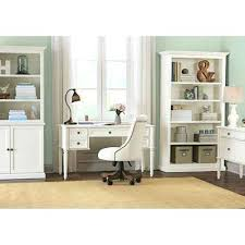 Martha Stewart Desk Accessories Martha Stewart Home Office Desk Rubbed Ivory Open Bookcase Martha