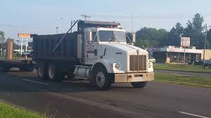 used kenworth dump trucks late 80 u0027s kenworth t800 dump truck youtube