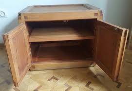 meubles design vintage meuble de rangement vintage en orme pierre chapo 1950 design