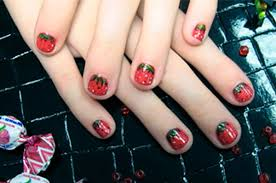 look for beautiful and colorful nail art ideas for kids