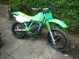 bike motocross kawasaki kmx 125 field bike motocross in greenock inverclyde