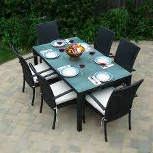 White Patio Dining Set - furniture modern wood outdoor dining furniture with arm chairs