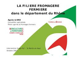 chambre d agriculture rhone liard agnes presentation filiere fromagere rhone