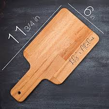 personalized engraved cutting board s atelier custom engraved cutting board wedding