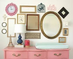 ansley designs gold frame gallery wall