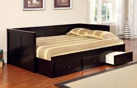 bedroom twin daybed with trundle and daybed with drawers