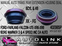 rear manual auto transmission extension housing seal ford single