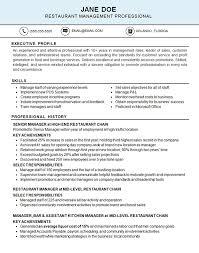 sle resume for cleaning supervisor responsibilities restaurant restaurant resume exle resume exles
