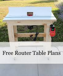 Woodworking Plans Router Table Free by Free Router Table Plans This Table Is A Snap To Build Pin Your
