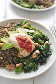 Good Garden Vegetables by Lentils With Garden Vegetables Avocado Walnuts And Hummus Bev