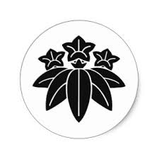 japanese mon family crest stickers zazzle