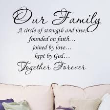 wedding quotes about family our family together forever quotes letter pattern design pvc