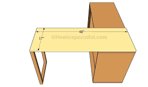 How To Build An L Shaped Desk Diy L Shaped Desk Plans Building The L Shaped Desk Diy L Shaped