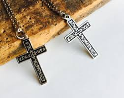 catholic necklaces catholic necklace etsy