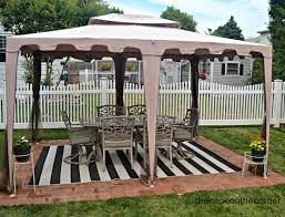 Discount Patio Furniture Stores Los Angeles The Cape On The Corner Black And White Backyard Makeover