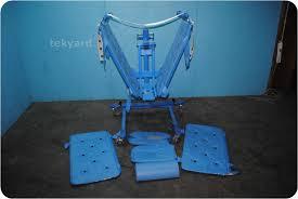 arjo bolero bathing system lift bath shower trolley 108110