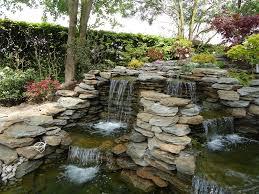 modern home interior design lawn garden futuristic stone