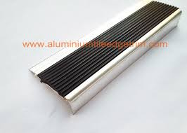 anti slip aluminum stair nosing stair safety treads nosings with