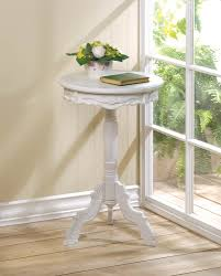 wholesale white chic cottage style nesting accent tables cheap
