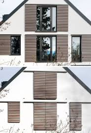 Modern Home Design Examples This House Is An Example Of How To Do Modern Window Shutters