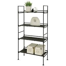 Folding Bookshelves - free standing storage and display shelves organize it