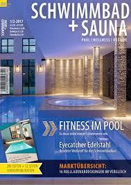 Esszimmer St Le F Schwergewichtige Schwimmbad Sauna 1 2 2017 By Fachschriften Verlag Issuu